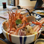 味処・民宿 まつや - 海鮮丼
