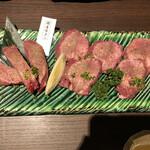 個室焼肉 囲 - 国産牛タン盛り合わせ 2500円