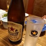 天ぷら酒場KITSUNE - 赤星