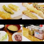 14065503 - 四季の天ぷら定食780円