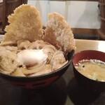 キッチン男の晩ごはん 女の昼ごはん - 野郎丼780円(しょうが)