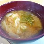 りっくゆ - 味噌汁