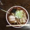 福家そばや - 料理写真:海老ワンタンメン ネギトッピング