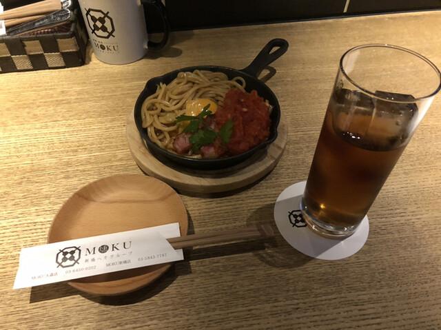 鉄板串 燻製 MOKU 大森店の料理の写真