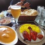 ジャンバーラ - Bセットと生ビール