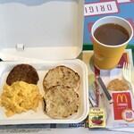 マクドナルド - 料理写真:ビッグブレックファストドリンクMセット500円