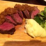 バルザル - 短角牛フィレ肉のグリル
