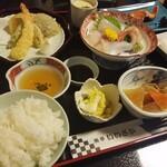 魚亭いいざか - ◆「いいざか定食(松)」
