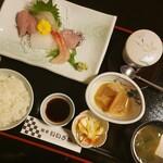 魚亭いいざか - ◆「刺身定食」