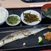 海の幸ふるまいセンター - 料理写真:秋刀魚塩焼定食(時価)¥600