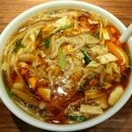 山形五十番飯店 上海厨房 - 料理写真:酸辣湯麺