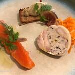 TEPATOMOKA - 前菜3種