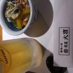 魚河岸亭 旬 - 麦酒!!!!