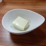 源 - お通しの豆腐