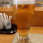Azumazushishinten - ランチビールです