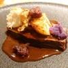 ハナコマチ - 料理写真:⑤五木村産  鹿肉のロースト。3種の芋をのせて