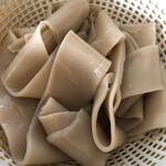 秋山製麺 - 料理写真:今回も極太に(笑)