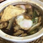 秋山製麺 - じゃーん 八丁味噌で煮込みうどん♡