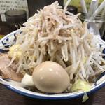 豪麺 マルコ - 特小らーめん(730円) 全マシ 細麺