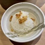 自家製麺 つきよみ - 料理写真:〆ごはん