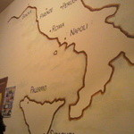 ボナイタリア - 店内の壁画
