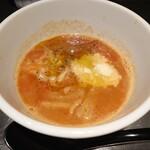 140684761 - トリュフトマトつけ麺のつけ汁
