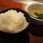 Horumondedesuke - 山盛りご飯、おかわり自由!