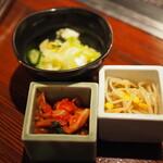 Horumondedesuke - 箸休めに野菜が嬉しい