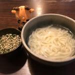 重乃井 - 釜揚げうどん大 770円(税込)