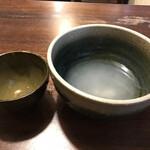 重乃井 - 蕎麦湯ならぬ、うどん湯にして、完食