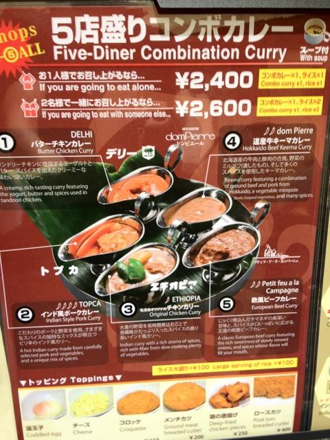 東京カレー屋名店会 東京ソラマチ店