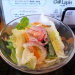 洋食屋 グリル ラパン - サラダのアップ