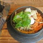 松葉茶屋 - 料理写真:源氏釜飯膳・山菜
