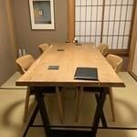 浅草じゅうろく - テーブル席