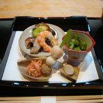 日本料理 竹茂 - 前菜(八寸)