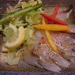 升亀 - 真鯛のカルパッチョ