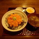 14070904 - ウニ丼