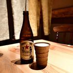 ひふみ - 瓶ビール(キリンラガー)@680円