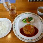 チーズ・シェッド - チーズハンバーグ1100円
