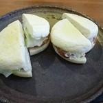 豆香 - 料理写真:2012.07 オーダーサンド、イングリッシュマフィン