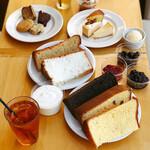 フレイバー - 料理写真:シフォンケーキ食べ放題