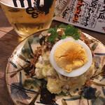 スタンド メェ - 料理写真:ポテトサラダ