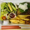 8代葵カフェ - 料理写真:地域応援弁当「ハンバーグ弁当」950円税込み