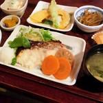 ここら屋 - ここら屋定食(魚メイン)1,080円