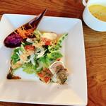 Cafe&Restaurant Sincerite - オードブルサラダ、スープ