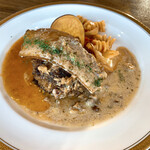 Cafe&Restaurant Sincerite - デミグラスソース/木の実クリーム/Wソース