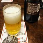 140733246 - 瓶ビールはキリンラガービールの中瓶