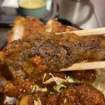 とん亭 - 桜肉 辛子味噌付き