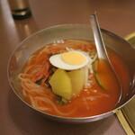 焼肉 山水 - 冷麺ハーフ