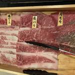 黒毛和牛すき焼きとしゃぶしゃぶ 和牛酒場とりこ - 黒毛和牛すき焼き(肉)